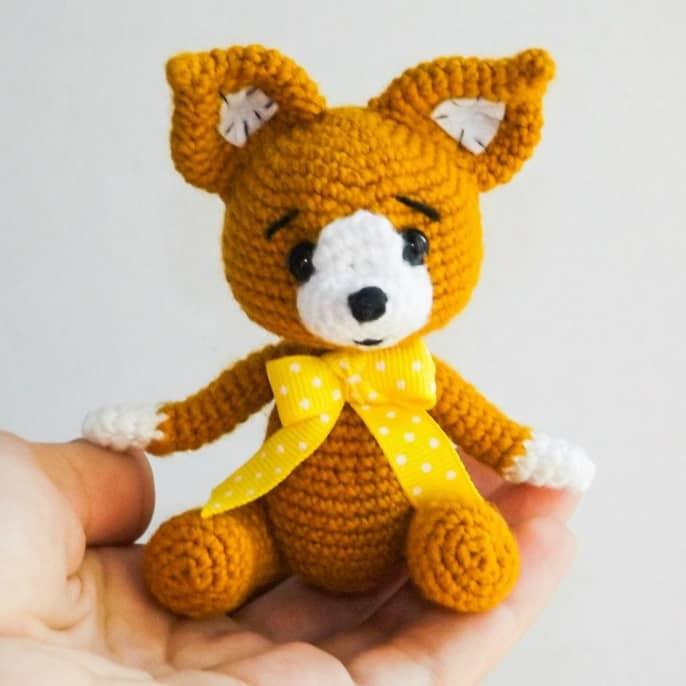 Fox crochet pattern free amigurumi