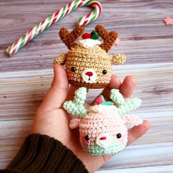 Amigurumi Cupcake Bunny : Pretty bunny amigurumi in dress - Amigurumi Today