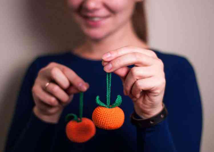 Christmas tangerine crochet pattern free