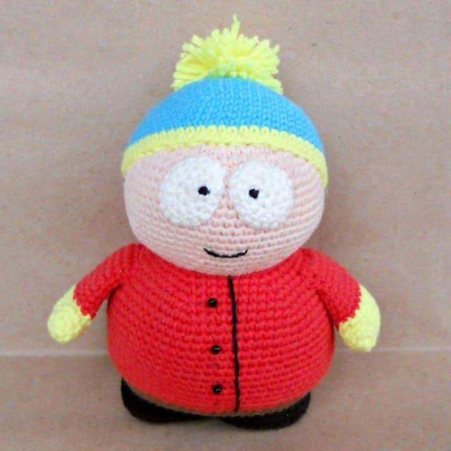 Eric Cartman free amigurumi pattern