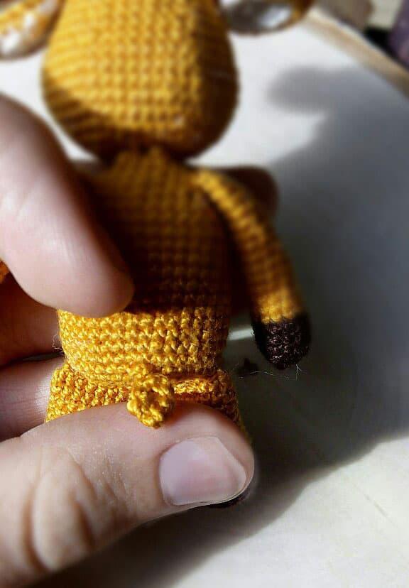 Free amigurumi moose crochet pattern