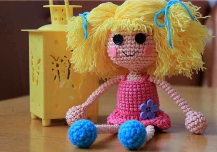 Free lalaloopsy doll amigurumi pattern