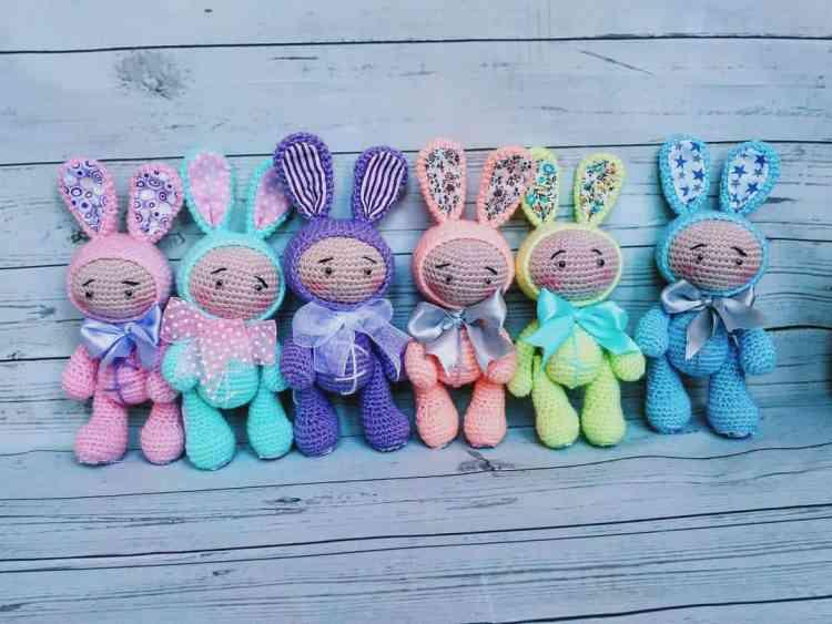 Amigurumi Baby Doll Patterns