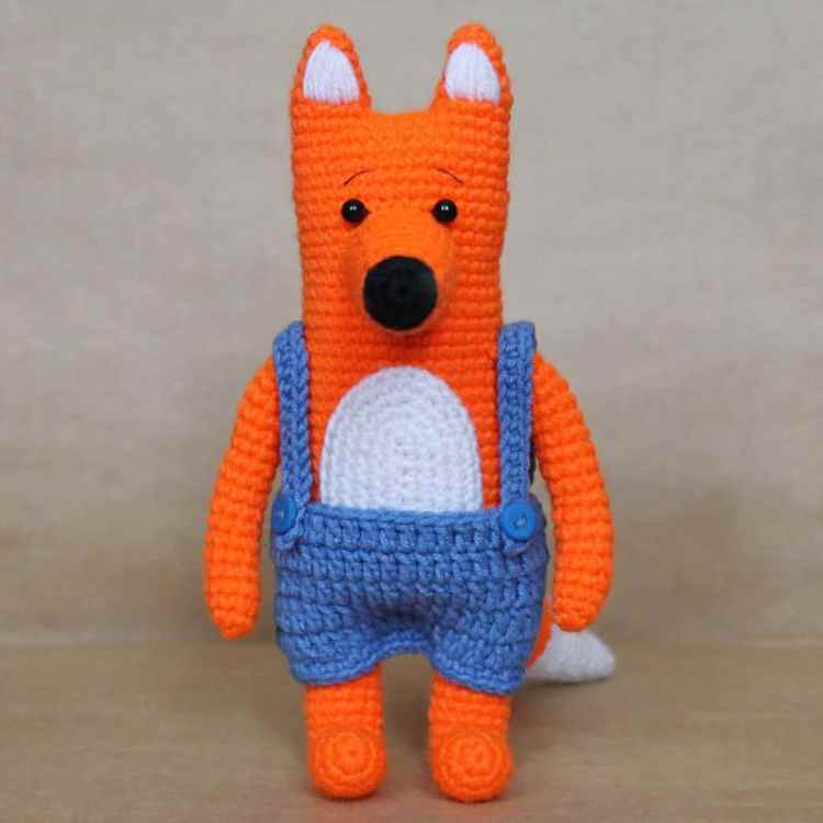 Amigurumi Mr Fox crochet pattern free