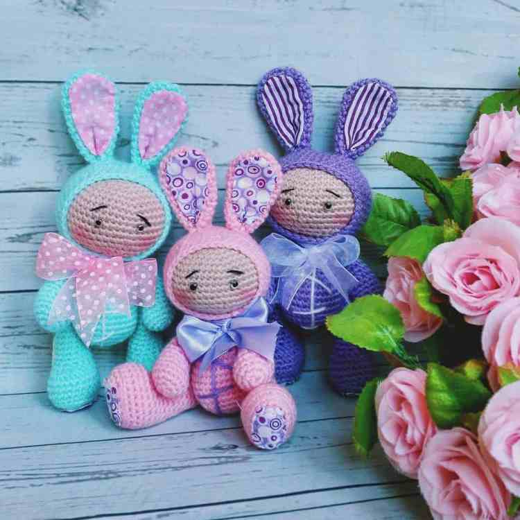 Baby dolls amigurumi - free crochet patterns