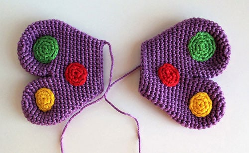 Butterfly rattle crochet pattern free