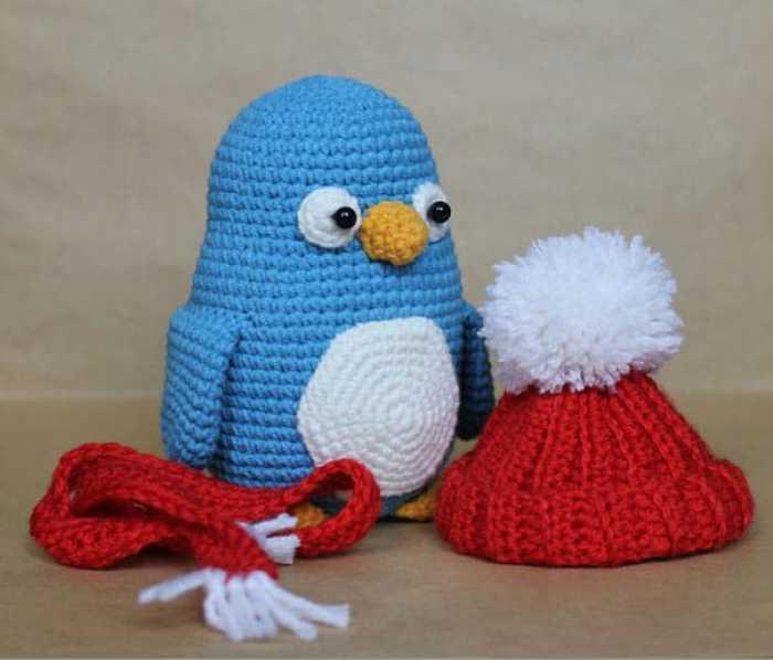Crochet baby penguin amigurumi pattern