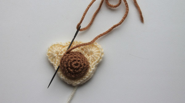 Crochet bear hair ties pattern tutorial