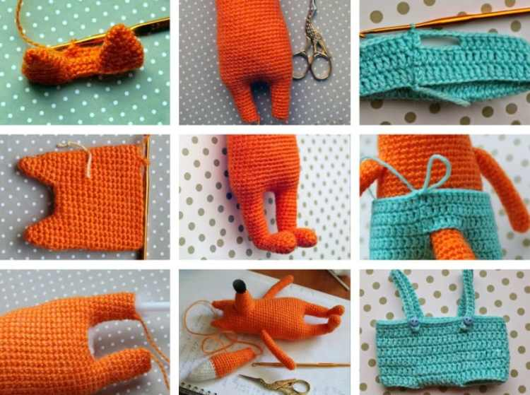Mr Fox free amigurumi pattern