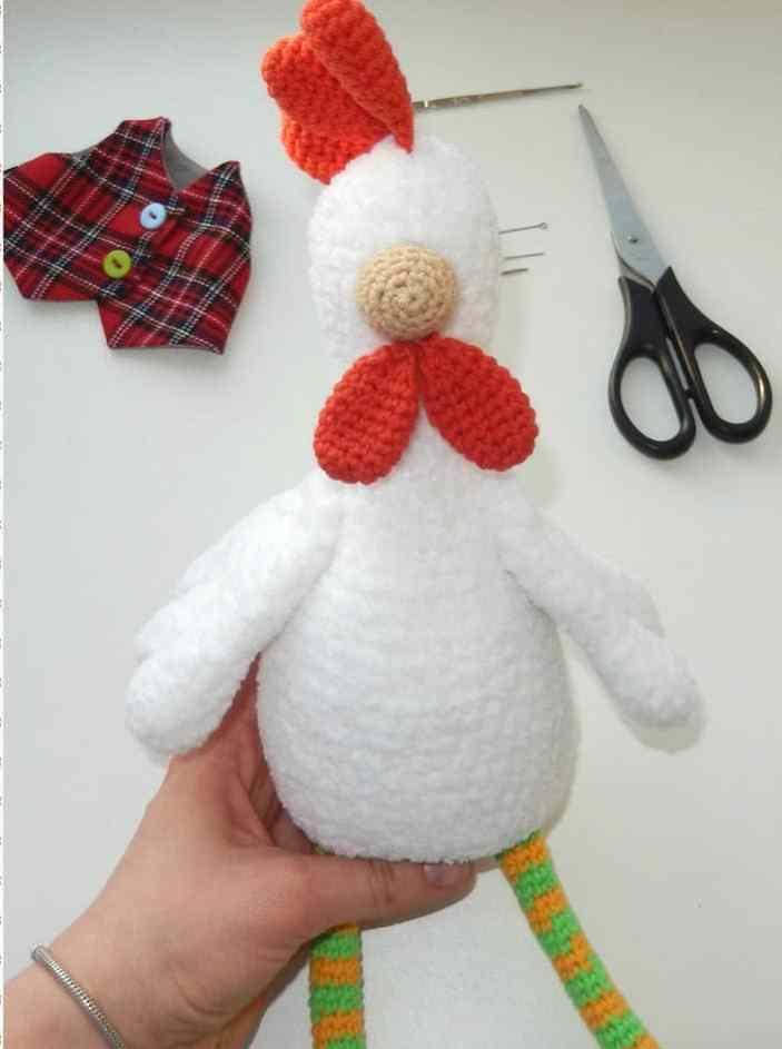 Rooster crochet pattern