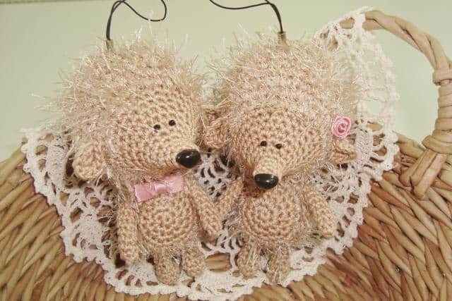 Amigurumi hedgehog crochet pattern
