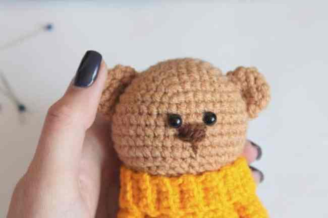 Amigurumi teddy bear brothers - free crochet patterns