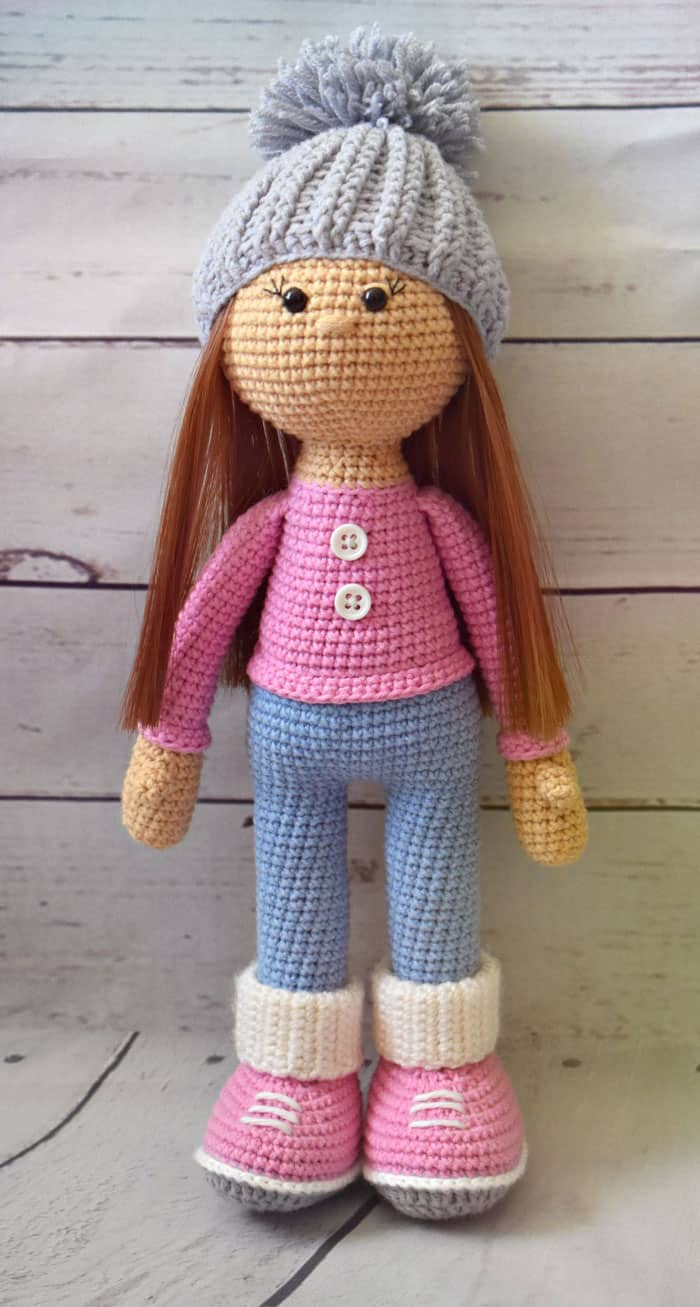 Free Toy Knitting Patterns Only : Molly doll crochet pattern - Amigurumi Today