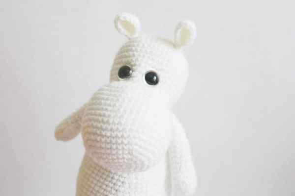 Moomin troll crochet pattern - free