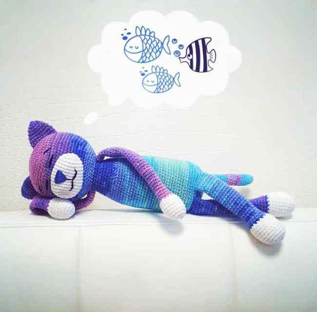 Large Amigurumi Crochet Patterns : Large Ami Cat crochet pattern - Amigurumi Today