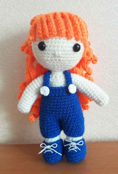 Crochet Julie doll amigurumi pattern