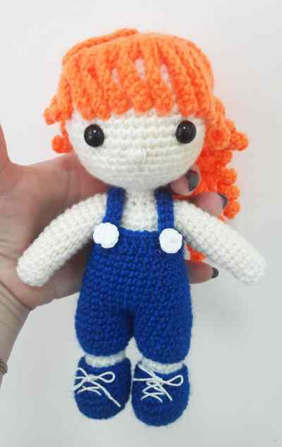 Amigurumi Curly Doll : Julie doll amigurumi pattern today