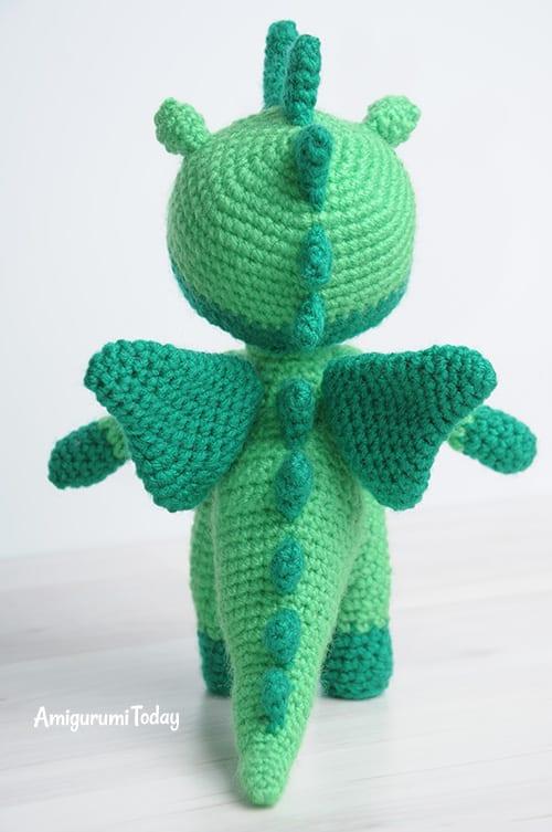 Amigurumi dragon doll pattern