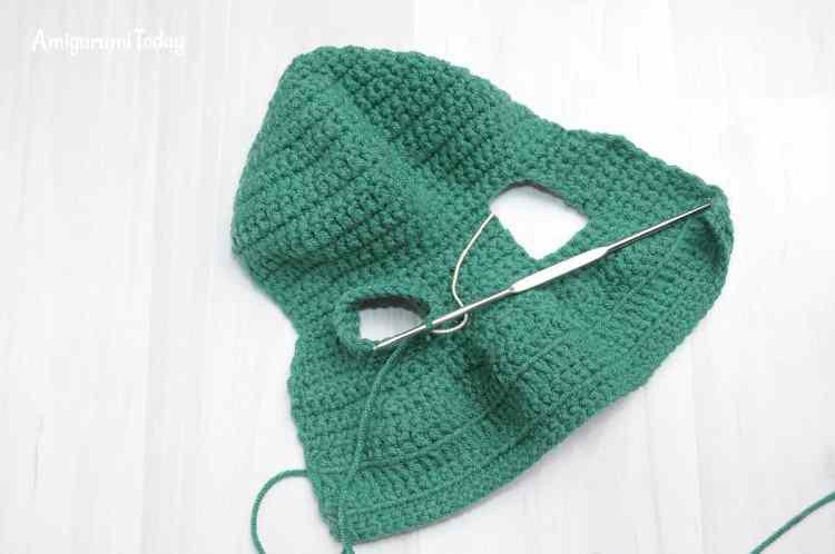 Amigurumi honey teddy bears - hoodie crochet pattern