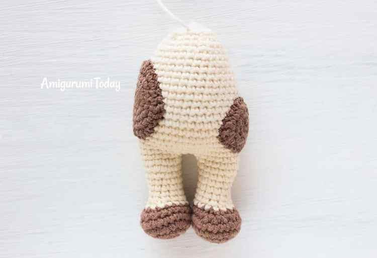 Amigurumi Cuddle Me Cow crochet pattern - body