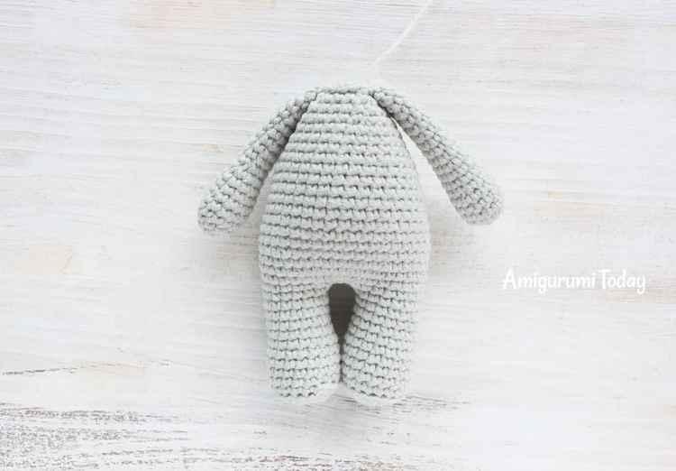 Cuddle Me Elephant Crochet Pattern - assembly