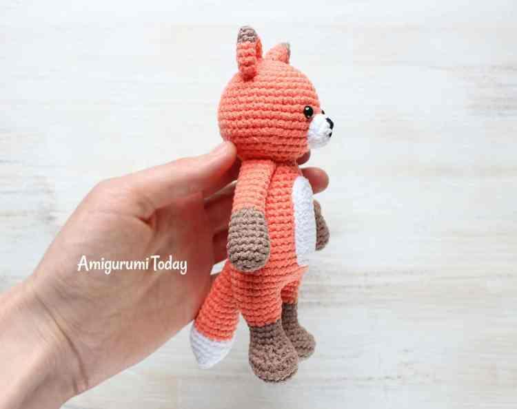 Cuddle Me Fox Crochet Pattern