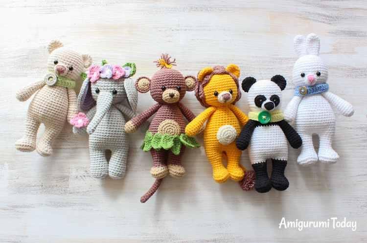 Cuddle Me Toys - Free Amigurumi Patterns