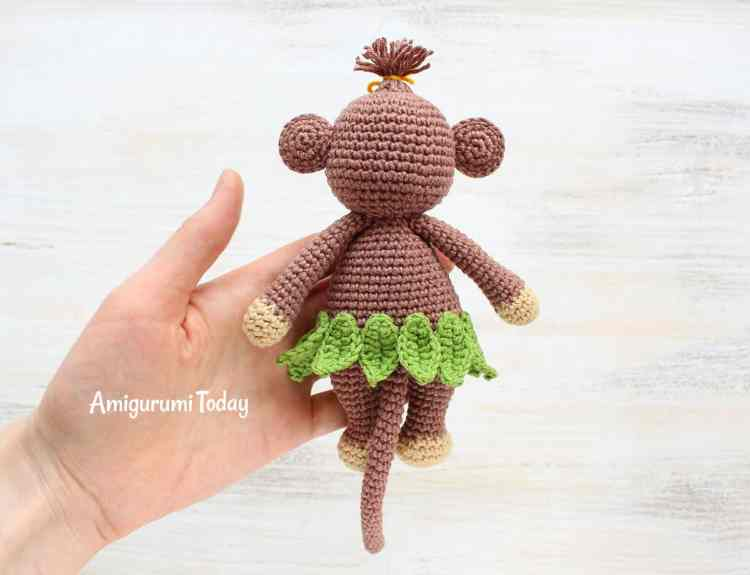 Free Cuddle Me Monkey Amigurumi Pattern
