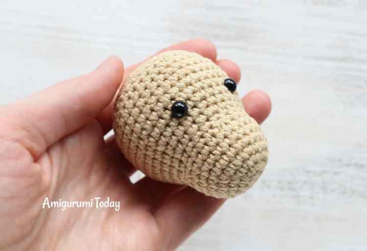 Cuddle Me Pony amigurumi pattern - crochet head