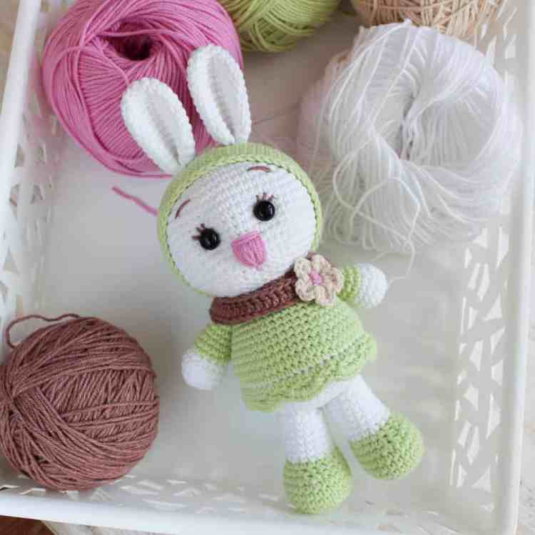 Amigurumi Sunny Bunny - Free crochet pattern by Amigurumi Today