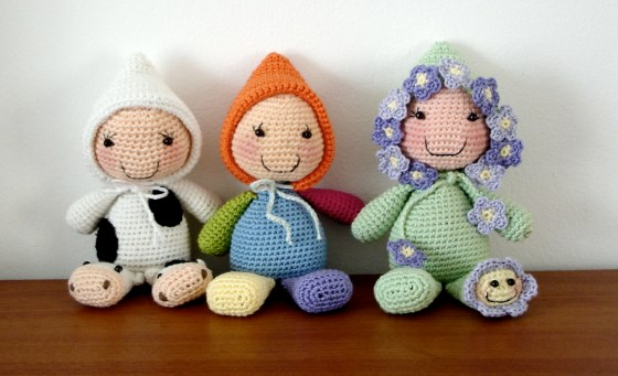 Rice stuffed dolls - 08