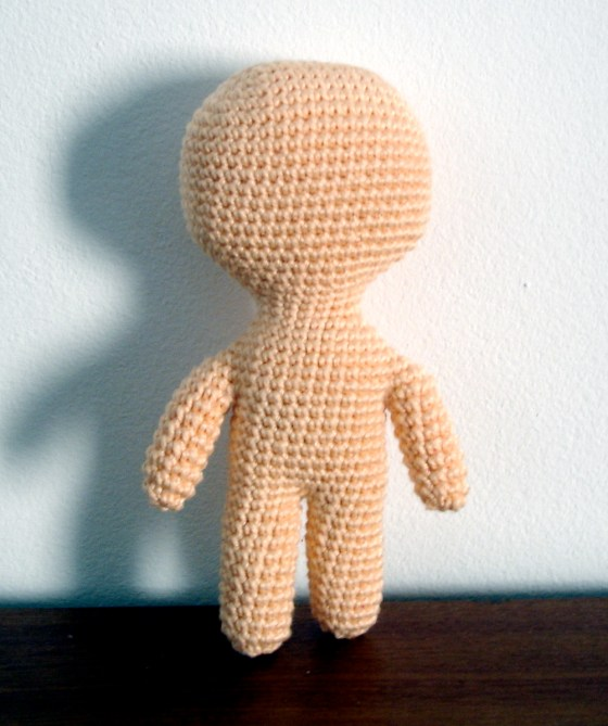 - cloth doll inspired crochet -