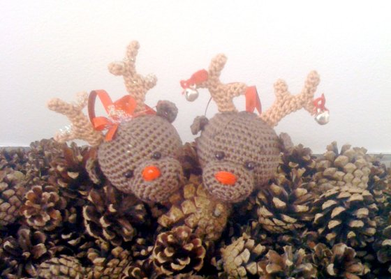 Rudolf the Raindeer - AmigurumiBB - Free Patterns