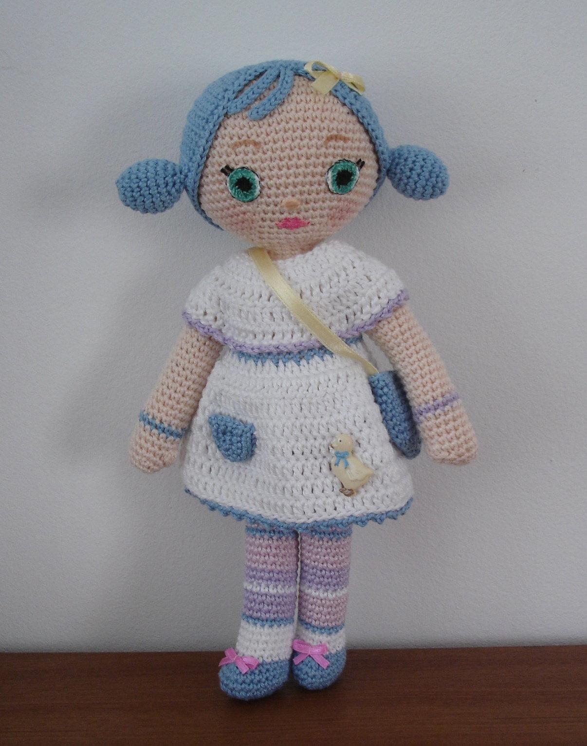 Crochet pattern for doll IDA, pdf (Deutsch, English, Nederlands ... | 1532x1206
