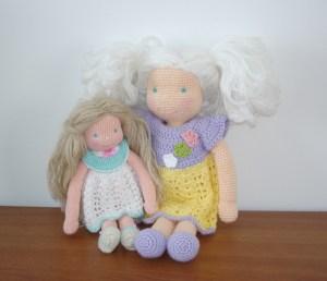Waldorf inspired dolls by AmigurumiBB