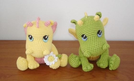 Baby Dragons - by Vanja Grundmann - AmigurumiBB