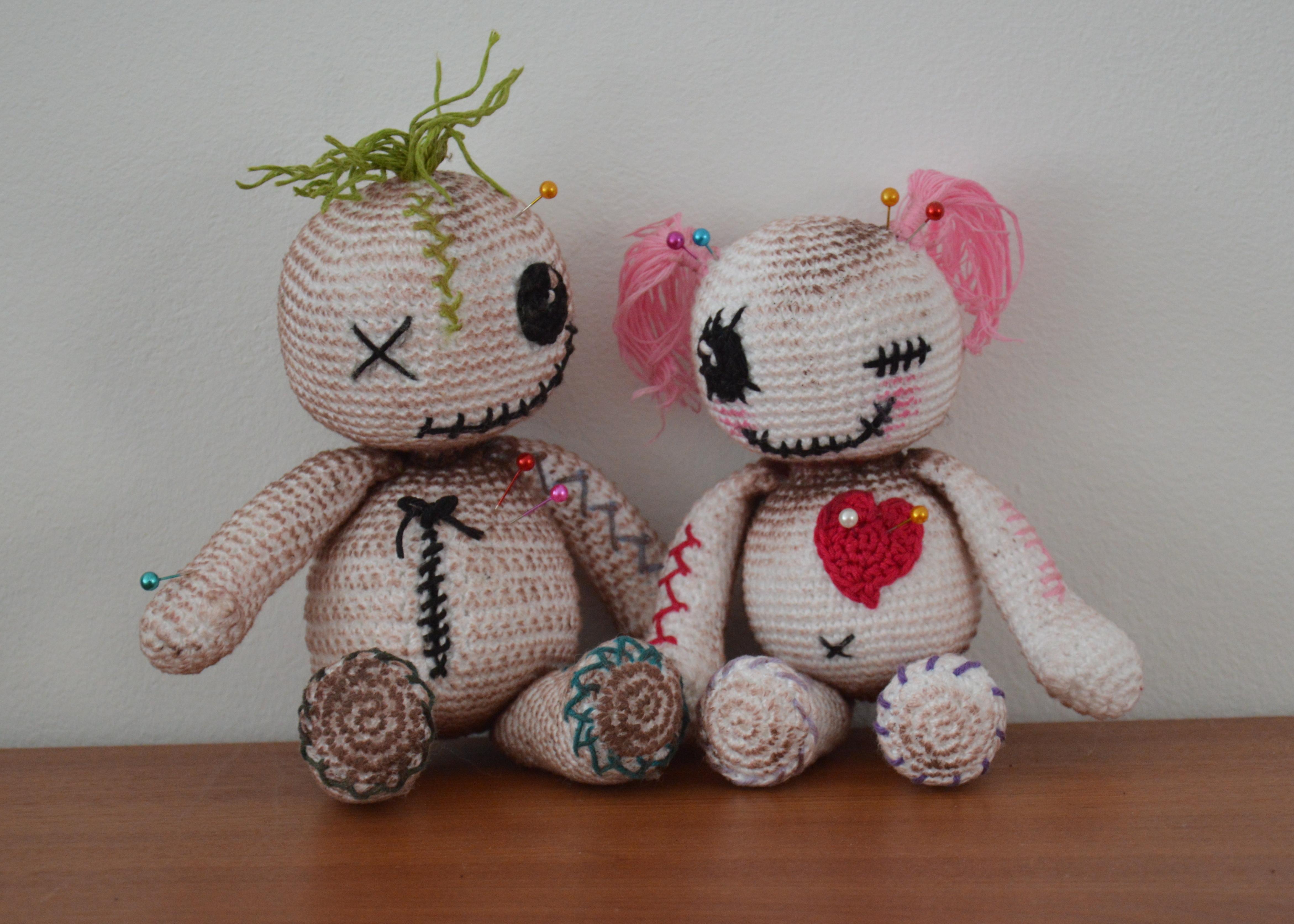 Voodoo Dolls – AmigurumiBB