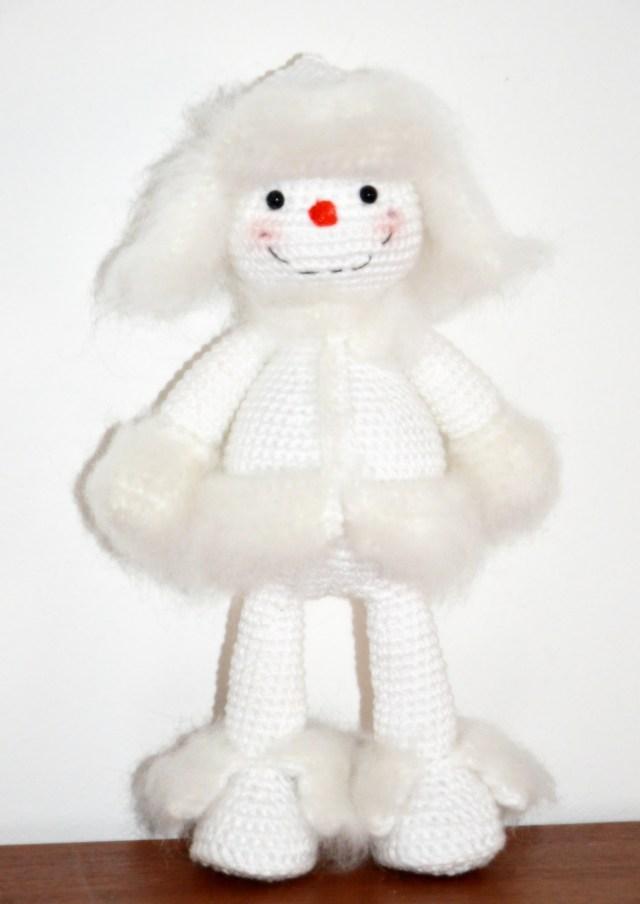 Snowman - AmigurumiBB