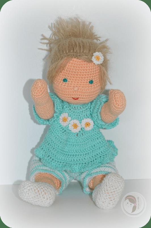 Waldorf Inspired baby by AmigurumiBB