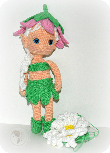 Flower Fairy by AmigurumiBB