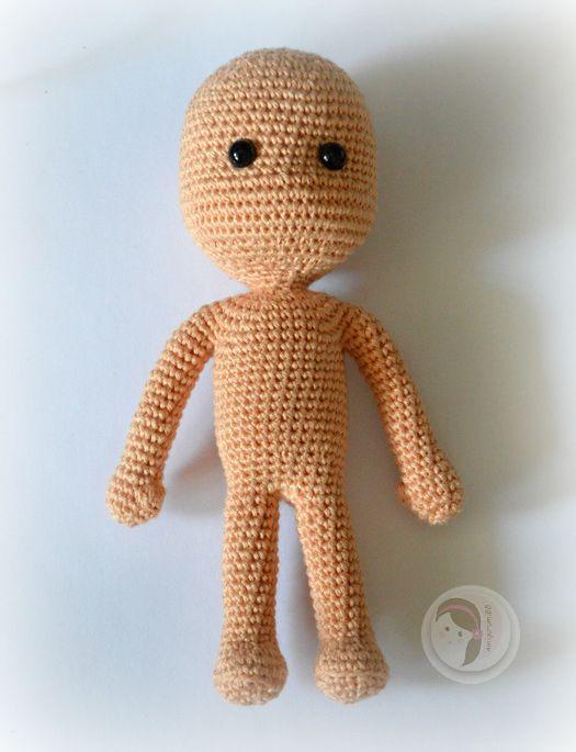 By Hook, By Hand: My Crochet Doll by Isabelle Kessedjian | 685x525