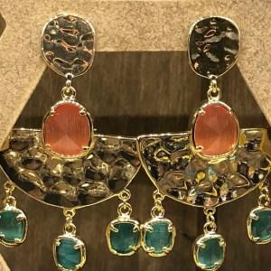 Boucles d'oreilles style égyptien
