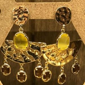 Boucles d'oreilles style égytien
