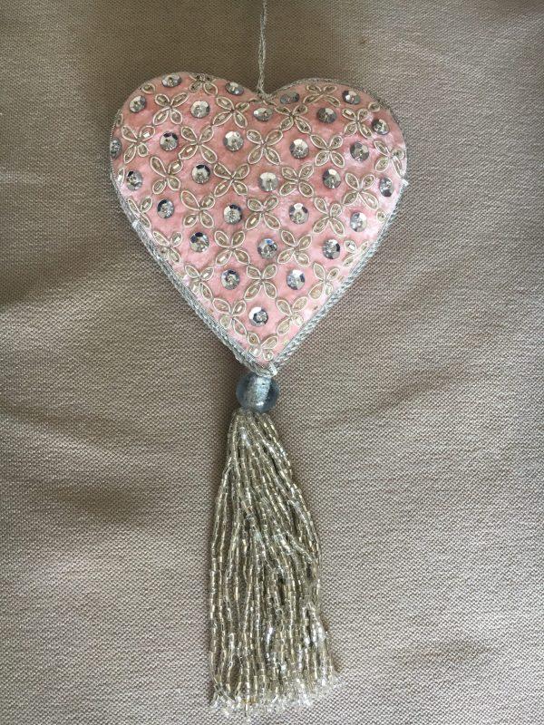 Coeur en perles