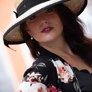 Wide-brimmed hat of July of St Barth