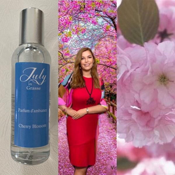 Cherry Blossom home fragrance parfum de maison
