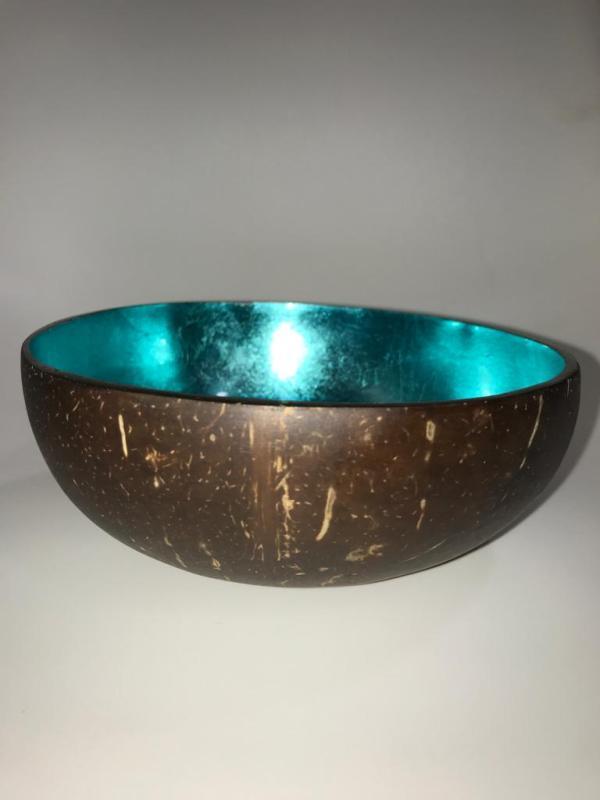 Bol turquoise noix de Coco