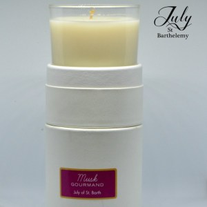 Musk gourmand candle
