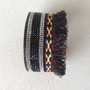 Magnetic cuff bracelet trendy colors