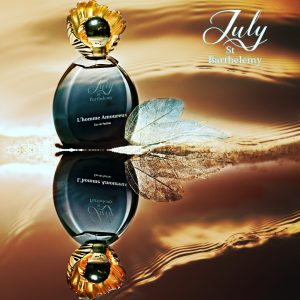 L'HOMME AMOUREUX Carte parfumee perfumed card